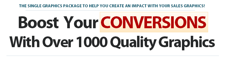 Internet marketing grahics pack for conversions